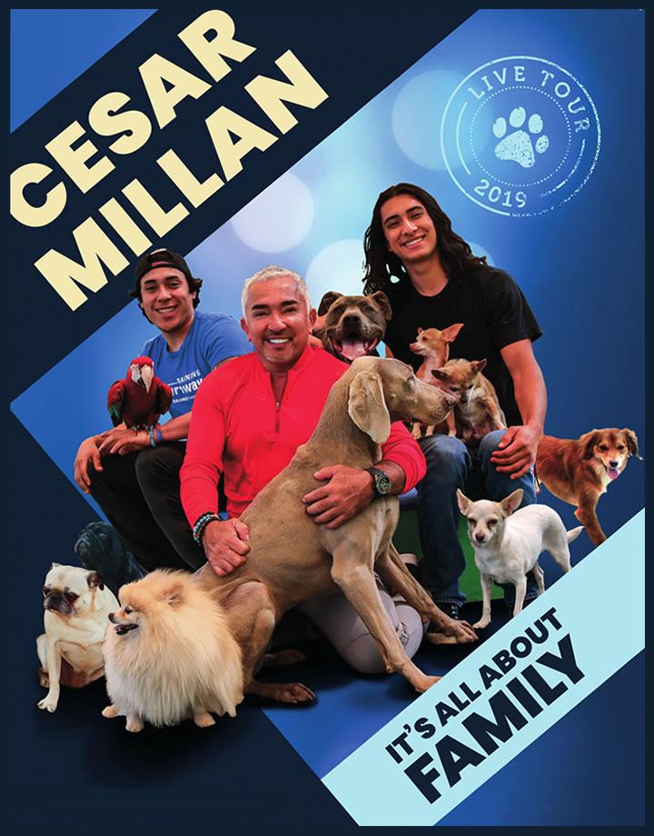 Cesar Millan Live 2017